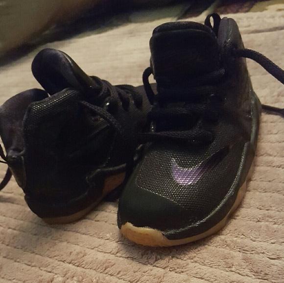 promo code f771c ebf0c Nike Shoes   Lebron James Akronite Baby Sneakers Size 6c Boys   Poshmark